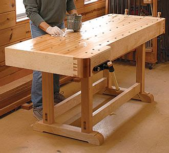 woodworking workbench plans    working