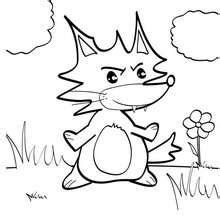 stone fox printable coloring pages freecoloring4u com