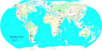 world map of physical map px project of the world nations oceans