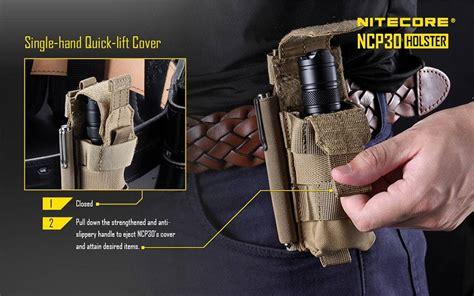 Nitecore Durable Holster Ncp40 nitecore ncp30 holster for nitecore p20 and p20v