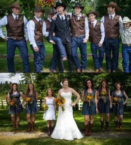 blue denim rustic wedding ideas  jean lovers jean