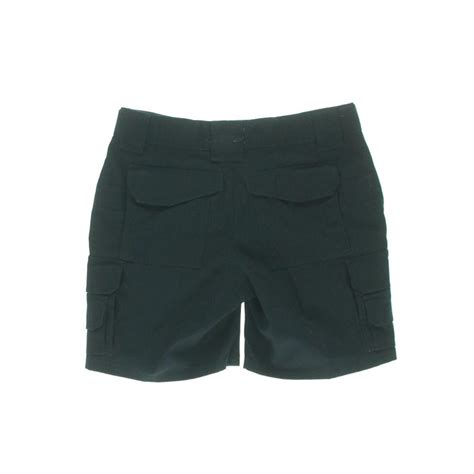 comfort waist shorts tru spec 8830 womens navy ripstop comfort waist cargo