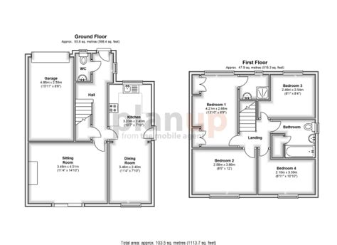 floor plan 2d planup exle 2d plans