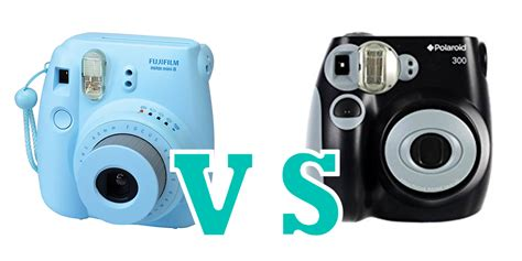 polaroid instax mini 8 fujifilm instax mini 8 vs polaroid pic 300 specs comparision