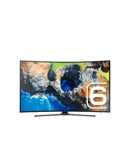 55 quot uhd 4k curved smart tv mu6500 series 6 un55mu6500fxzc samsung ca