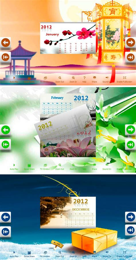 new year theme windows 7 flipbook themes package calendar new year windows 7