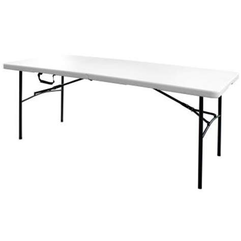 hdx 6 ft folding table 3072fx the home depot