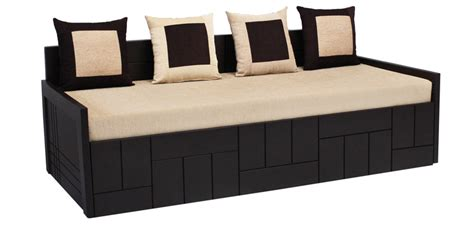 new sofa cum bed nelson sofa cum bed with four pillows in cream colour by