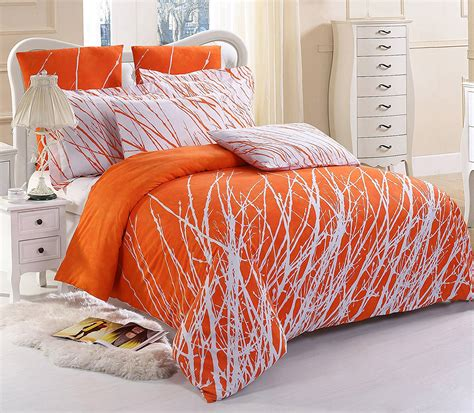 orange comforter orange bedding sets beautiful earthy decor for any