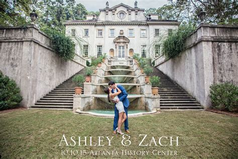 Wedding History by Zach Atlanta History Center Wedding Peacock