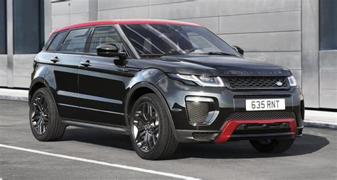 land rover evoque black modified range rover evoque ember special edition unveiled 2017 my