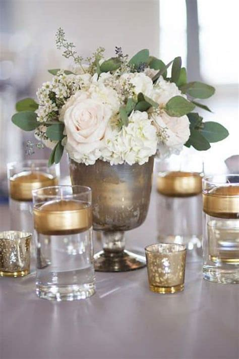 12 Inspiring Diy Wedding Centerpieces On A Budget Cute Wedding Candle Centerpieces On A Budget