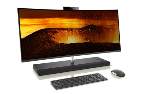 Hp Zu All Type fesselnder all in one desktop der hp envy curved all in