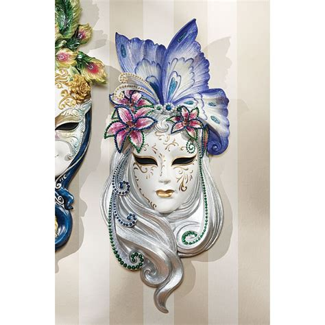 decorative wall masks venetian italian decorative wall sculpture art butterfly