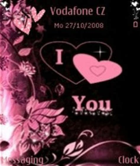 love themes phone download free i love you themes for mobile phones i love