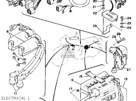 1981 yamaha xs400 wiring diagram 1981 wiring diagram