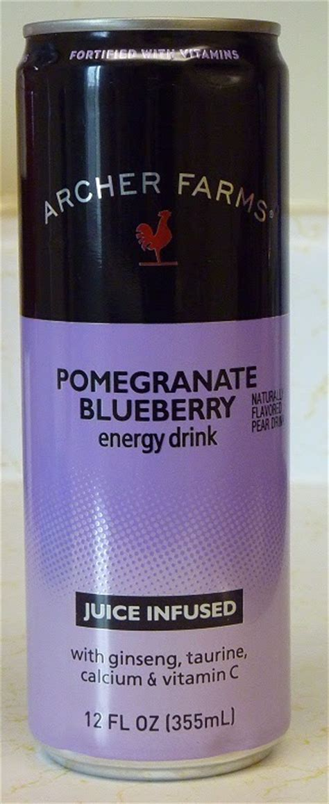 2 energy drinks a week what s at archer farms archer farms pomegranate
