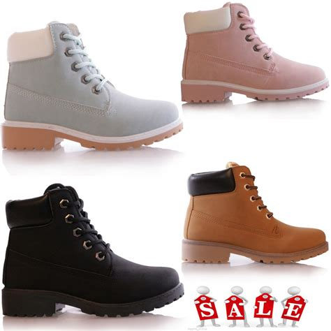 shoes size 6 grip sole winter warm lace up ankle boots