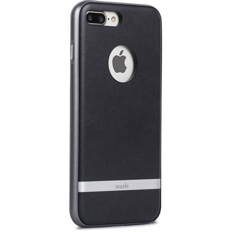 h iphone 7 plus moshi napa for iphone 7 plus black 99mo090003 b h photo