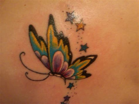 tattoo butterfly trail fairy trail tattoo picture