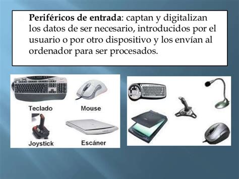 perifericos de entrada y salida dispositivos perif 233 ricos de entrada salida y mixtos