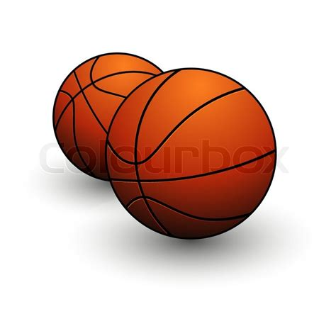 2537843 basketball sign orange color on the white jpg