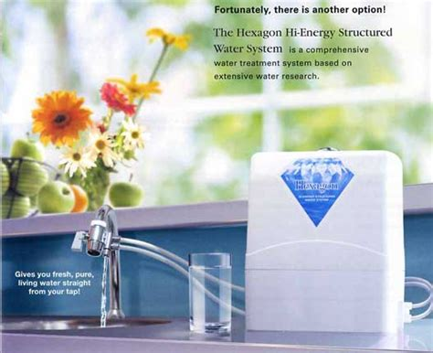 hi energy water hexagon hi energy structured water system bringing back