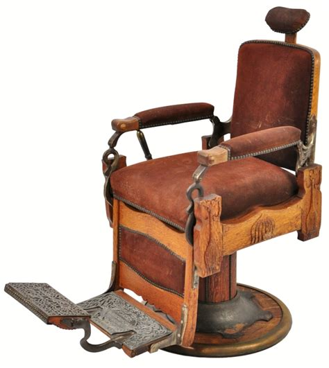 Antique Barber Chairs by Antique Koken Barber Chair Talcum Brush Model Talc Nouveau Arts Crafts