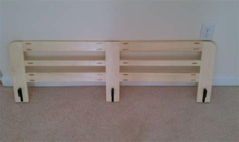 bunk bed side rail easy project  echofive