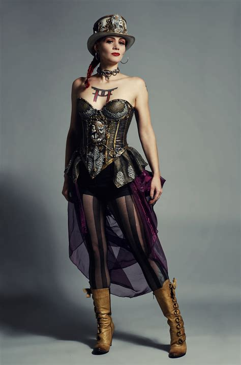 Steam Punk Style by The Fashion Fashion Lesson Steampunk