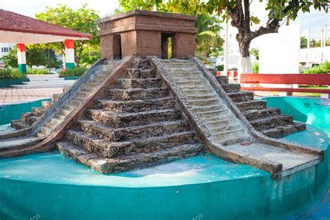imagenes de maquetas mayas maqueta del templo de kukulk 225 n de chichen itza o co foto