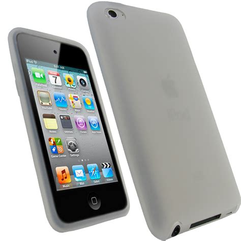 Antibreak Guard Ipod Touch 4th igadgitz clear silicone skin cover for apple ipod