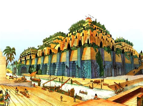 giardini di babilonia i giardini pensili di babilonia