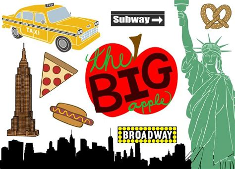 new york clip city clipart nyc graphics illustrations free