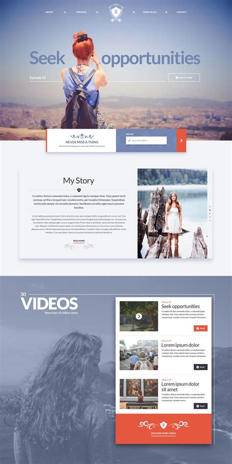 ui layout ddo 17 best images about one pagers on pinterest website