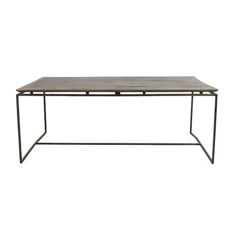 Wood And Iron Coffee Tables Coffee On A Budget