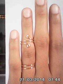 Gelang Nama Gold Lapis Emas 32 cherish de treex