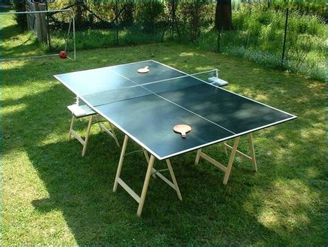 build a ping pong table how to build a table tennis table