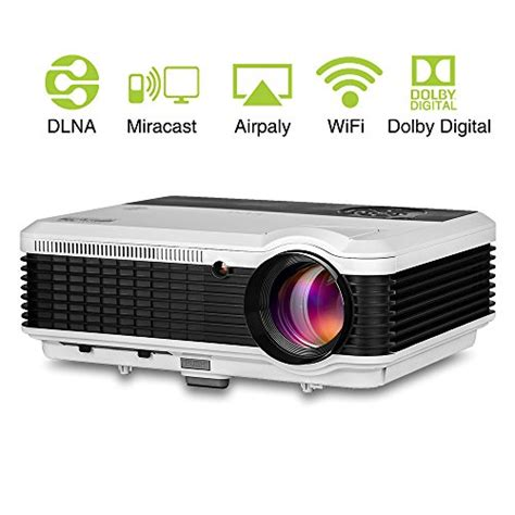 Lcd Wireless Projector eug lcd wireless projector wxga 1080p hdmi support