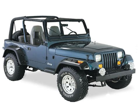jeep hood accessories all things jeep wrangler yj 1987 1995 hood accessories