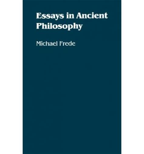 Early Philosophy And Other Essays by Essays In Ancient Philosophy Michael Frede 9780816612758