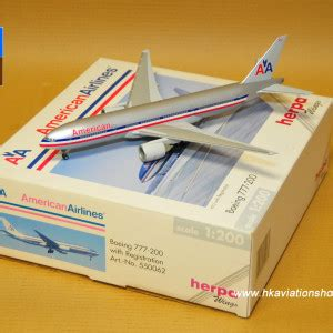 Herpa Airlines Boeing 777 200lr H528115 boeing 777 200 product tags hong kong aviation shop