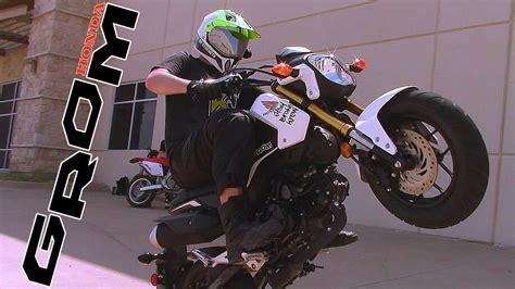 how to break in motocross how to break in a grom honda msx125 motorcycle youtube