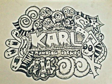 simple doodle with name a doodle requested by karl by shylencer on deviantart