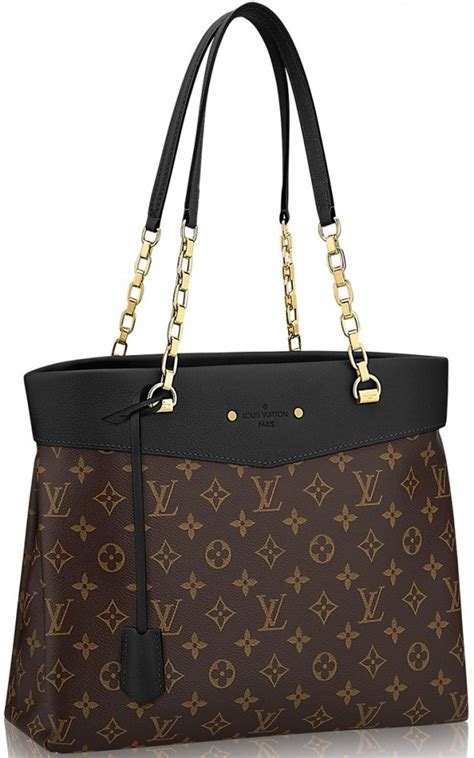 louis vuitton monogram canvas pallas shopper bag bragmybag