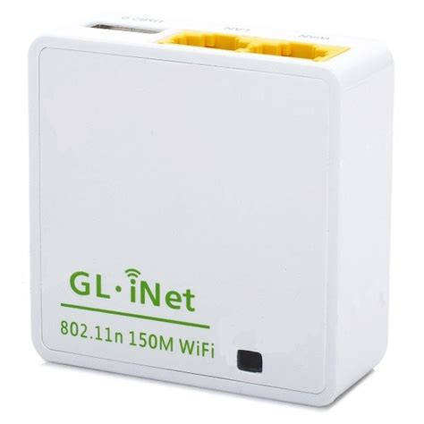 Router Gl Inet gl inet openwrt mini smart router 16mb rom 6416a white jakartanotebook