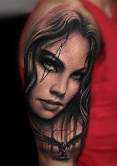 black and grey portrait tattoo artists portrait black and grey tattoo tattoos pinterest
