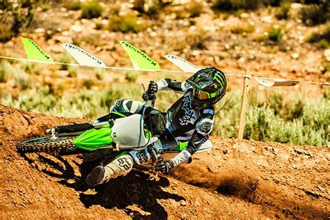 motocross bike reviews kawasaki 2018 kx 100 motocross bike review