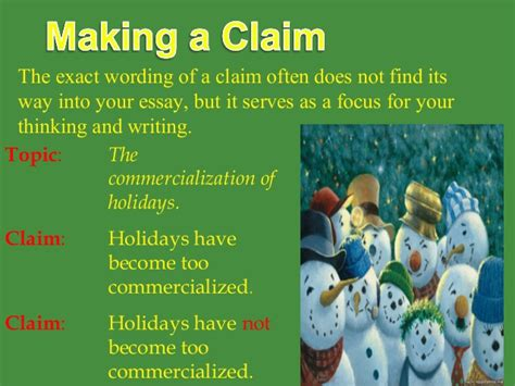 Commercialization Of Essay by The Argument Paper 2013