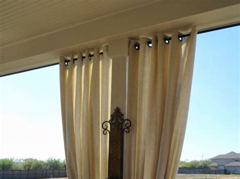 drop cloth curtains outdoor best 25 deck curtains ideas on pinterest outdoor